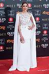 Mariam Hernandez attends red carpet of Goya Cinema Awards 2018 at Madrid Marriott Auditorium in Madrid , Spain. February 03, 2018. (ALTERPHOTOS/Borja B.Hojas)