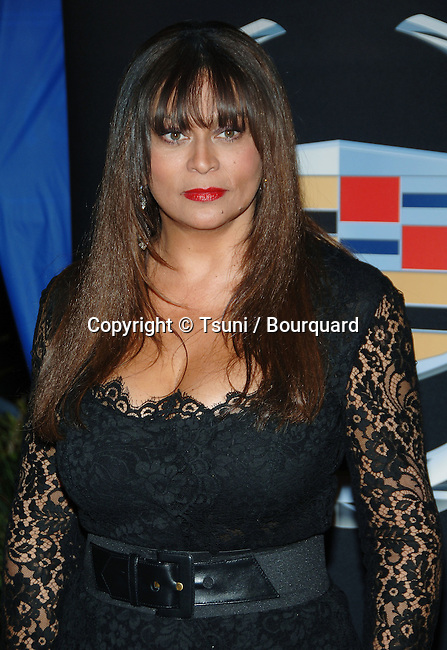 Tina Knowles ( Beyonce's mom )  arriving at the DREAM GIRLS Premiere at the Wilshire  Theatre In Los Angeles.<br /> <br /> 3/4