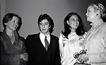 Ellen Burstyn, Al Pacino, Anna Strassberg and Princess Grace Kelly attend the Theatre Hall Of Fame Awards held on March 28, 1982 at the Uris Theater, now called the Gershwin Theater, New York City.