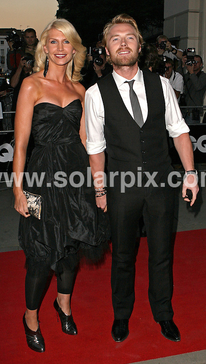 **ALL ROUND PICTURES FROM SOLARPIX.COM** **WORLDWIDE SYNDICATION RIGHTS** .Arrivals at the 2007 GQ Magazine Men of the Year Awards. At the Royal Opera House in London, England, September 4th, 2007 ..This pic: Ronan Keating..JOB REF: 4764 SSD DATE: 04_09_2007 .**MUST CREDIT SOLARPIX.COM OR DOUBLE FEE WILL BE CHARGED* *UNDER NO CIRCUMSTANCES IS THIS IMAGE TO BE REPRODUCED FOR ANY ONLINE EDITION WITHOUT PRIOR PERMISSION*