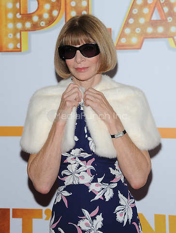 New York,NY-October 9:Anna Wintour attends 'It's Only A Play' Broadway Opening Night - Arrivals And Curtain Call at Gerald Schoenfeld Theatre in New York City on October 9, 2014. Credit: John Palmer/MediaPunch
