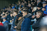 Wycombe Wanderers supporters during the Sky Bet League 2 match between Wycombe Wanderers and Morecambe at Adams Park, High Wycombe, England on 12 November 2016. Photo by David Horn.