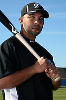 March 1, 2010:  Infielder Alex Gonzalez (3) of the Toronto Blue Jays poses for a photo during media day at Englebert Complex in Dunedin, FL.  Photo By Mike Janes/Four Seam Images