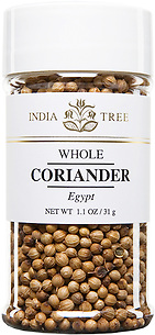 30605 Coriander Seed, Small Jar 1.1 oz, India Tree Storefront