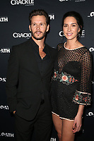 CULVER CITY, CA - MARCH 7: Ryan Kwanten and Ashley Sisino pictured at Crackle's The Oath Premiere at Sony Pictures Studios in Culver City, California on March 7, 2018. <br /> CAP/MPIFS<br /> &copy;MPIFS/Capital Pictures