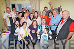 BIRTHDAY: On Saturday night at Seamus Kelly's household a 30th birthday party was held for Carol O'Sullivan, Balloonagh Est, Tralee on Saturday night at No 9, Cois Abhainn (near Lidi's) were many of Carols family and friends gathered at Seamus house to celebrate the special birthday Carol is seated (3rd from right)...