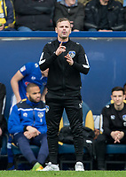 Oldham Athletic Manager Richie Wellens during the Sky Bet League 1 match between Oxford United and Oldham Athletic at the Kassam Stadium, Oxford, England on 7 April 2018. Photo by Andy Rowland.