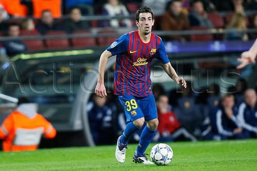 "Isaac Cuenca (Barcelona), DECEMBER 3, 2011 - Football / Soccer : Spanish ""Liga Espanola"" match between FC Barcelona 5-0 Levante UD at Camp Nou stadium in Barcelona, Spain."