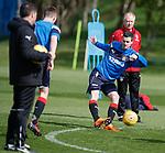 27.04.2018 Rangers training: Jamie Murphy