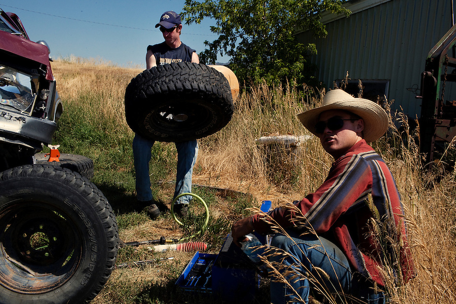 Whitehall, Montana, August 24, 2011 -