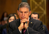 United States Senator Joe Manchin III (Democrat of West Virginia) at the confirmation hearing of Daniel Bress to become a U.S. circuit judge for the ninth circuit, as well as the nomination of several district judges on Capitol Hill in Washington D.C., U.S. on May 22, 2019.<br /> <br /> Credit: Stefani Reynolds / CNP