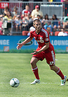 July 20, 2013: Toronto FC forward Justin Braun #17 in action during a game between Toronto FC and the New York Red Bulls at BMO Field in Toronto, Ontario Canada.<br /> The game ended in a 0-0 draw.