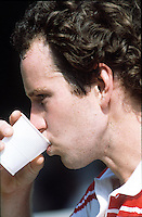 JOHN McENROE (USA)<br />WIMBLEDON 1983<br />PHOTO ROGER PARKER FOTOSPORTS INTERNATIONAL