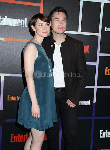 SAN DIEGO, CA - JULY 26: Valorie Curry, Sam Underwood at Entertainment Weekly's Annual Comic-Con Celebration at Float at Hard Rock Hotel San Diego on July 26, 2014 in San Diego, California. Credit: RTNMichelle/MediaPunch