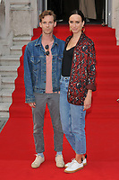 "LONDON, ENGLAND - AUGUST 08: Luke Treadaway and Ruta Gedmintas at the ""Pain and Glory"" Film4 Summer Screen opening gala & launch party, Somerset House, The Strand, on Thursday 08 August 2019 in London, England, UK.<br /> CAP/CAN<br /> ©CAN/Capital Pictures"