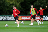 Ben Woodburn of Wales in action during the Wales Training Session at The Vale Resort in Cardiff, Wales, UK. Monday 8 October 2018