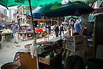 A street scene in the old market street.