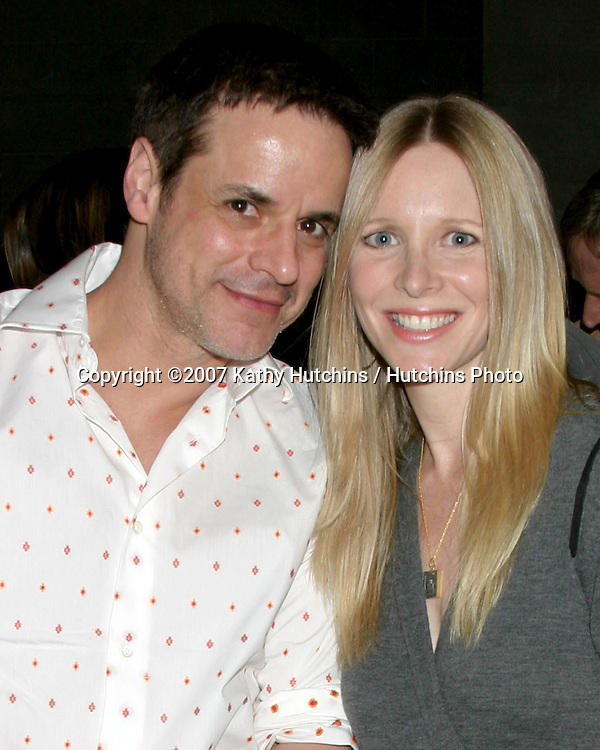 Christian LeBlanc & Lauralee Bell.Young and the Restless Celebrates 18 years with the #1 Rating.CBS Television City.Los Angeles,  CA.January 8, 2007.©2007 Kathy Hutchins / Hutchins Photo....