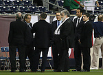 06 February 2008: Chuck Blazer. The United States Men's National Team played the Mexico Men's National Team to a 2-2 tie at the Reliant Stadium in Houston, TX in a men's international friendly soccer game.