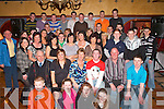 KEY OF THE DOOR: Shane Devane, Killarney (seated 4th left) celebrated his 21st birthday with his friends and family in the Killarney Avenue Hotel on Friday night.   Copyright Kerry's Eye 2008