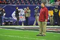 NWA Media/Michael Woods --12/29/2014-- w @NWAMICHAELW...University of Arkansas vs the University of Texas at the 2014Texas Bowl Monday night at  NRG Stadium in Houston.