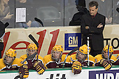 Andy Sertich, Mike Howe, Ryan Stoa, Phil Kessel, Don Lucia, Evan Kaufmann - The University of Minnesota Golden Gophers defeated the University of North Dakota Fighting Sioux 4-3 on Saturday, December 10, 2005 completing a weekend sweep of the Fighting Sioux at the Ralph Engelstad Arena in Grand Forks, North Dakota.