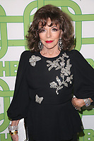 06 January 2019 - Beverly Hills , California - Joan Collins. 2019 HBO Golden Globe Awards After Party held at Circa 55 Restaurant in the Beverly Hilton Hotel. <br /> CAP/ADM/FS<br /> &copy;FS/ADM/Capital Pictures