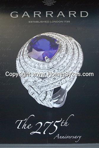 Garrards the Royal jewellers. Albemarle Street London W1.