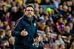 Coach Eusebio Di Francesco of AS Roma gestures during the UEFA Champions League 2017-18 quarter-finals (1st leg) match between FC Barcelona and AS Roma at Camp Nou on 05 April 2018 in Barcelona, Spain. Photo by Vicens Gimenez / Power Sport Images