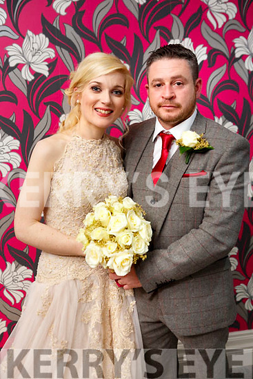 Katie Lucey and Finbarr O'Keeffe were married at Civil Ceremony at the Earl Of Desmond  Hotel on Friday 20th October 2017