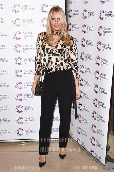 Danielle Armstrong arriving at James Ingham&rsquo;s Jog On to Cancer, in aid of Cancer Research UK at The Roof Gardens in Kensington, London.  <br /> 12 April  2017<br /> Picture: Steve Vas/Featureflash/SilverHub 0208 004 5359 sales@silverhubmedia.com