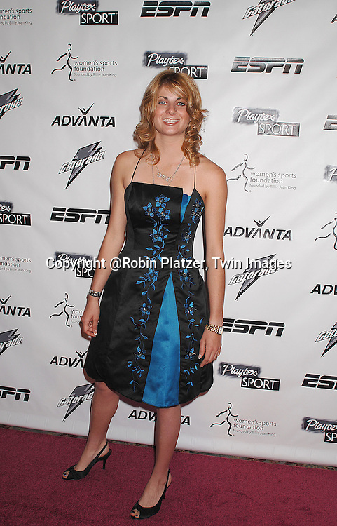 Lyn-Z Adams Hawkins..arriving on the Playtex Sport Pink Carpet at the Women's Sports Foundation's 28th annual Salute to Women in Sports at the Waldorf Astoria Hotel on October 15, 2007. ....photo by Robin Platzer, Twin Images....212-935-0770