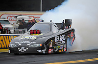 Oct. 2, 2011; Mohnton, PA, USA: NHRA funny car driver Dale Creasy Jr during the Auto Plus Nationals at Maple Grove Raceway. Mandatory Credit: Mark J. Rebilas-