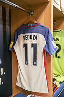Harrison, N.J. - Friday September 01, 2017: Alejandro Bedoya during a 2017 FIFA World Cup Qualifying (WCQ) round match between the men's national teams of the United States (USA) and Costa Rica (CRC) at Red Bull Arena.