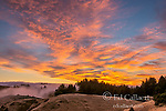 Sunset, Mount Tamalpais State Park, Marin County, California
