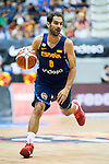 Spain's basketball player Jose Manuel Calderon during the first match of the preparation for the Rio Olympic Game at Coliseum Burgos. July 12, 2016. (ALTERPHOTOS/BorjaB.Hojas)