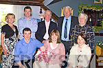 Aileen and Mark Courtney Killorglin and Dublin celebrated the christening of their daughter Roisin in the Top Deck restaurant Killorglin on Sunday front row l-r: Aileen, Roisin, Mark Courtney, Catherine Benson. Back row: Ina, Gerard, Chris Courtney, Nick and Breda Sinnott.