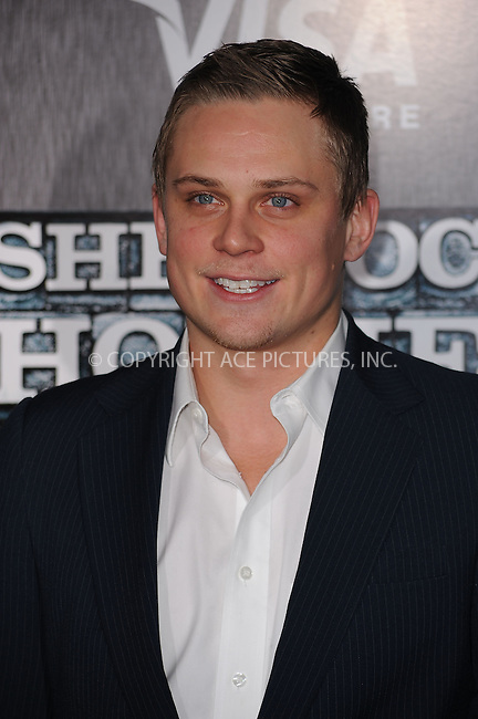 WWW.ACEPIXS.COM . . . . . ....December 17 2009, New York City....Billy Magnussen arriving at the New York premiere of 'Sherlock Holmes' at the Alice Tully Hall, Lincoln Center on December 17, 2009 in New York City.....Please byline: KRISTIN CALLAHAN - ACEPIXS.COM.. . . . . . ..Ace Pictures, Inc:  ..(212) 243-8787 or (646) 679 0430..e-mail: picturedesk@acepixs.com..web: http://www.acepixs.com