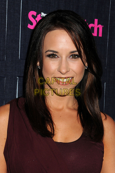 Lacey Chabert.People StyleWatch hosts Hollywood Demin Party in honor of 2nd Annual Denim Issue held at Palihouse, West Hollywood, California USA..20th September 2012.headshot portrait maroon burgundy  .CAP/ADM/BP.©Byron Purvis/AdMedia/Capital Pictures.