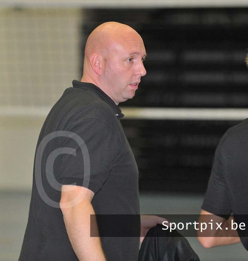 Tievolley Tielt Heren : coach Filip Krul.foto VDB / BART VANDENBROUCKE