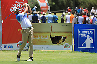 Gaganjeet Bhullar (IND) in action during the final round of the Magical Kenya Open presented by ABSA played at Karen Country Club, Nairobi, Kenya. 17/03/2019<br /> Picture: Golffile | Phil Inglis<br /> <br /> <br /> All photo usage must carry mandatory copyright credit (&copy; Golffile | Phil Inglis)