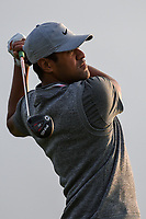Tony Finau (USA) watches his tee shot on 11 during day 1 of the Valero Texas Open, at the TPC San Antonio Oaks Course, San Antonio, Texas, USA. 4/4/2019.<br /> Picture: Golffile | Ken Murray<br /> <br /> <br /> All photo usage must carry mandatory copyright credit (© Golffile | Ken Murray)