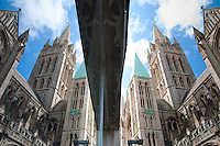 Truro Cathedral Reflection