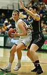 SPEARFISH, SD - FEBRUARY 4, 2017 -- Taylor Trohkimoinen #11 of Black Hlls State drives around a UCCS defender during their Rocky Mountain Athletic Conference game Saturday at the Donald E. Young Center in Spearfish, S.D.  (Photo by Dick Carlson/Inertia)
