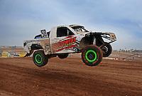 Mar. 19, 2011; Chandler, AZ, USA;  LOORRS pro two driver Jesse James during round one at Firebird International Raceway. Mandatory Credit: Mark J. Rebilas-
