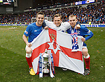 The Ulster connection: Andy Little, Dean Shiels and Andy Mitchell