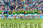 The Kerry team who defeated Dublin at the National League Final in Croke Park on Sunday.