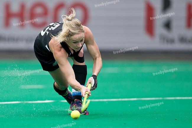 23/06/2015<br /> HWL Semi Final Antwerp Belgium 2015<br /> New Zealand v India Women<br /> Anita  Punt<br /> Photo: Grant Treeby