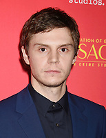 HOLLYWOOD, CA - JANUARY 08: Actor Evan Peters attends the Premiere Of FX's 'The Assassination Of Gianni Versace: American Crime Story' at ArcLight Hollywood on January 8, 2018 in Hollywood, California.<br /> CAP/ROT/TM<br /> &copy;TM/ROT/Capital Pictures