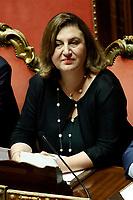 Nunzia Catalfo<br /> Rome September 10th 2019. Senate. Discussion and Trust vote at the new Government. <br /> Foto  Samantha Zucchi Insidefoto